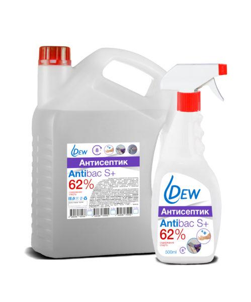 Dew AntiBac S+ 62%